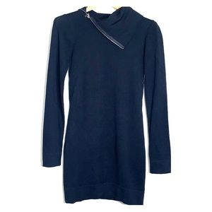 KENSIE GIRL • Black Knit Sweater Dress